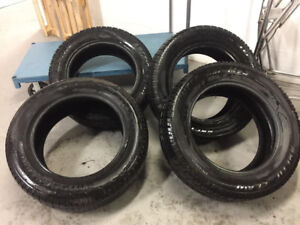 Great SET OF 20 Inch BRIDGE STONE DUELLERS WInter tires --4