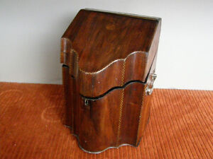 Collection of Antique Boxes - Tea Caddies Lapdesks Knife Boxes London Ontario image 4
