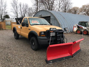 2006 F350 with Plow and salter