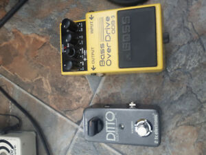 boss & tc electronic pedal