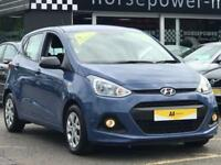 2016 Hyundai i10 1.0 S 5dr Petrol blue Manual