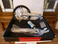 FSA GIMONDI SINGLE SPEED CRANK NEW