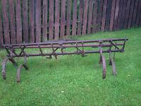 Lot equipement agrciole antique focntionnel pour VTT tracteur
