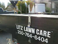 5 x 8 WARD HAUL LANDSCAPE TRAILER WITH 4 FT RAMP GATE ($2100)