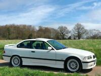 1998 [R] BMW 328i M SPORT INDIVIDUAL 2.8 PETROL MANUAL E36 COUPE ALPINE WHITE
