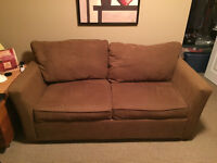 Sofa Couch/Futon-- Priced to sell!!