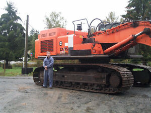 Now dismantling for parts Hitachi ZX230-1, Hitachi ZX450-3