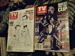 TV Guides-100 Stars & Toronto Maple Leafs Goalie Curtis Joseph