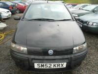 2002 FIAT PUNTO 1.2 Mia TRADE IN TO CLEAR. IDEAL STARTER VEHICLE.