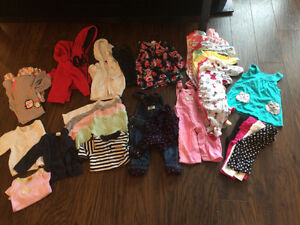 Girls 6 month fall/winter clothing lot
