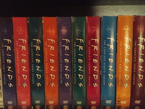 Complete Friends Seasons 1 to 10 on DVD