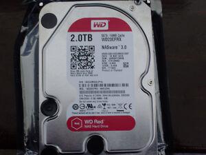 Western Digital Red Hard Drive 2 TB Desktop Model