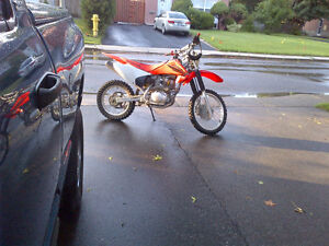 2007 Honda crf150 (female driven)
