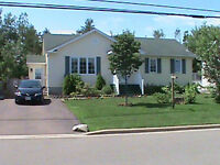 MONCTON, NB HOUSE FOR RENT. GREAT LOCATION. SPACIOUS BUNGALOW