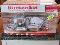 New Quality Kitchen Aid Cookware