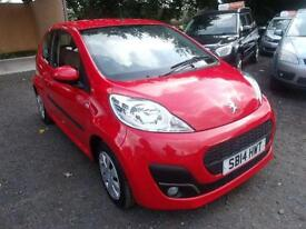 2014 Peugeot 107 1.0 Active 3dr 3 door Hatchback