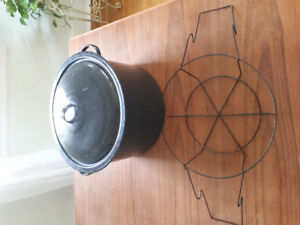 Large Canning Pot with rack