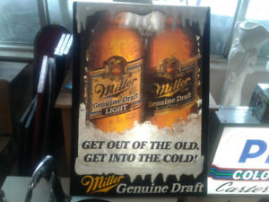 Miller Genuine Beer light