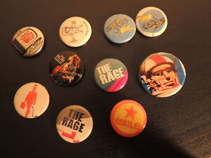 30 + buttons and badges