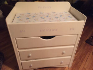 Handcrafted Baby Change Table -- Sturdy and Beautiful!