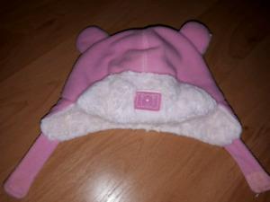 Chapeau d'hiver 3-9 mois fille