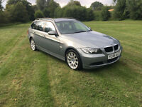55 REG AUTOMATIC BMW 320 2.0TD SE Touring 111000 MILES 6 MONTH RAC WARRANTY