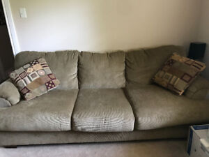 Furniture set sofa, love seat end tables