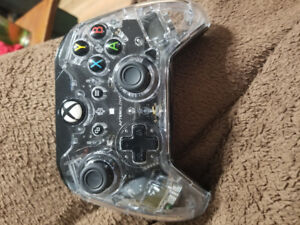 X box Afterglow headset and controller