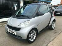2009 smart fortwo 1.0 PULSE MHD 2d 71 BHP Coupe Petrol Automatic