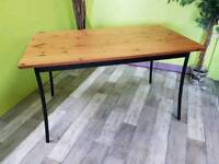 Pine Top Dining / Kitchen Table - Can Deliver For £19