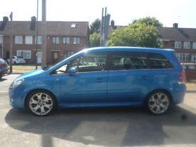 2006 Vauxhall Zafira 2.0i 16v Turbo VXR 5DR 06 REG Petrol Blue