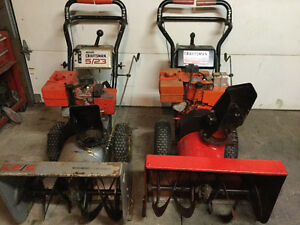 Snowblowers-ice auger-chainsaw