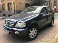 MERCEDES M CLASS ML270 CDI ### AUTOMATIC DIESEL ### 7 SEATER MPV