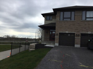 Brand New Semi-Detached Home for Lease In Bayside Belleville