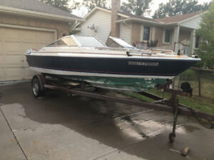 SOLD...  Bayliner Bowrider 19ft  I/O