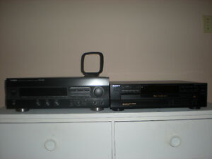 CD player & Receiver