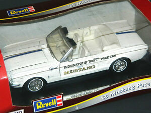 Revell 1/18 Scale 1965 Ford Mustang Indy Pace Car Diecast