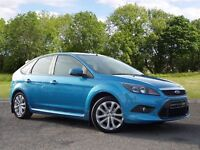 Ford Focus 1.6 Zetec S 5dr (blue) 2009
