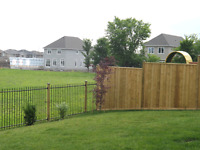 Perfect Post and Fence