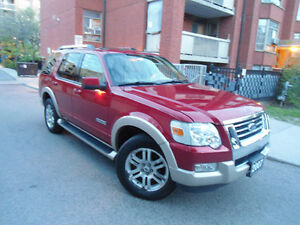 2007 FORD EXPLORER EDDIE BAUER EDITION, ONLY 121KM ,LOW MILEAGE!