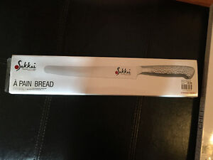 Sakkai knives, bread and chef knife