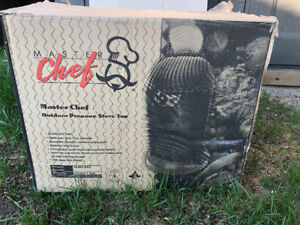 Master Chef outdoor propane cook top