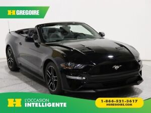 2018 Ford Mustang EcoBoost Premium CABRIOLET AUTO NAVIGATION CAM
