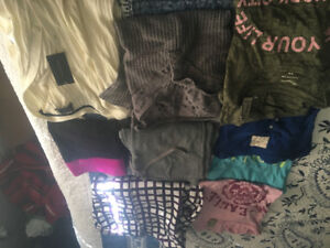 Woman's size small/medium clothes