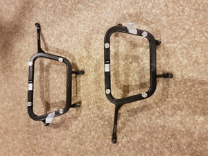 SW-MOTECH Quick-Lock EVO side carriers for KLR650