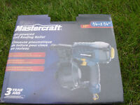New Mastercraft roofing nailer