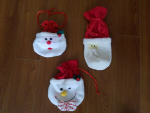 3 PET STOCKINGS ... VERY GOOD CONDITION!