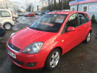 57 REG Ford Fiesta 1.4 Zetec Climate IN RED