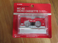 Cassettes for Microcassette Recorder (new in package)