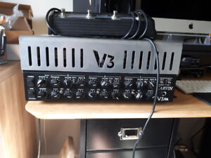 Carvin V3m and Pedals